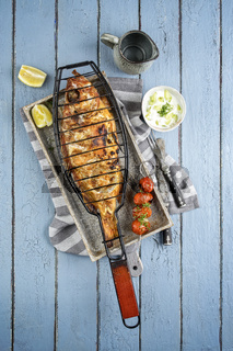 Barbecue Rose Fish