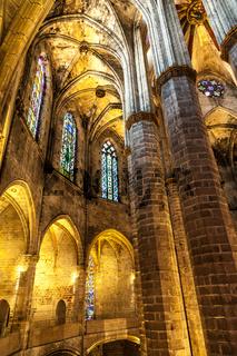 Gothic church interior