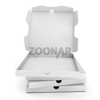 3d packing pizza boxes