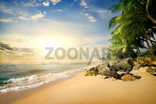Beach in Galle