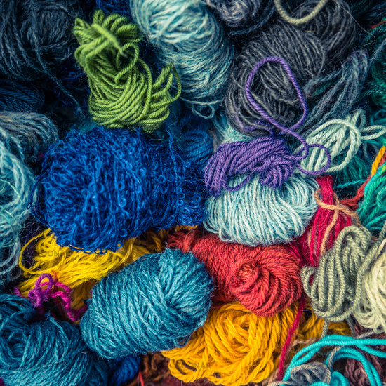 Background Texture Of Wool