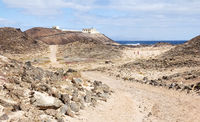 Punta Martino Lighthouse on the small island of Lo