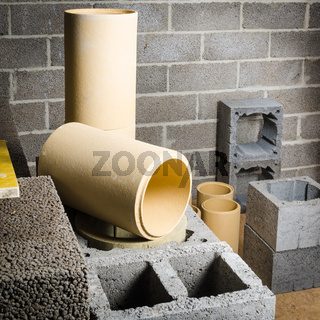 Construction of modular ceramic chimney