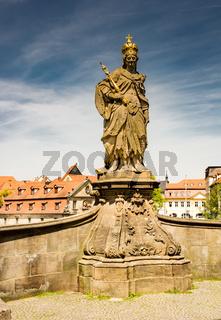Sculpture of Heilige Kunigunde in Bamberg