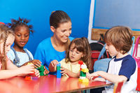 Kinderbetreuung im Hort nach der Schule