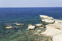 Rocky Coastline on Gozo, Malta, Mediterranean Sea
