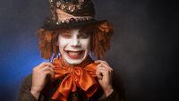 halloween clown. The clown suit.