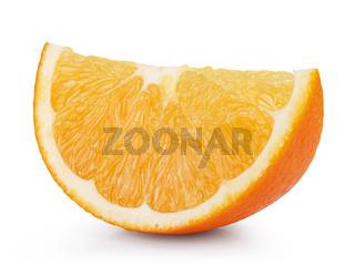 Ripe fresh orange