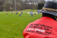 Counter-violence on the football pitch