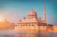 Putra Mosque, Putrajaya -  Malaysia
