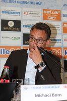 Pressekonferenz in Paderborn am 14.10.2015 des SC Paderborn mit Michael Born