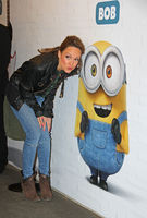 Carolin Kebekus with Minions