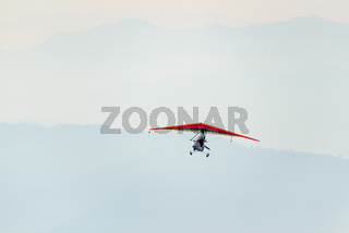 Ultralight flying in Nepal