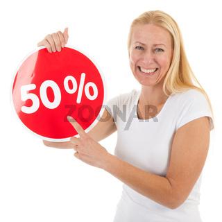 Discount in shop