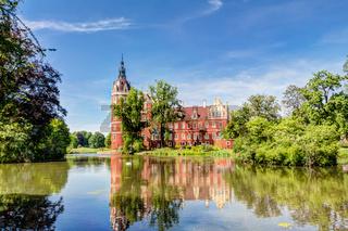 Fürst Pückler Park in Bad Muskau und Schloss