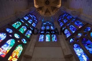 Church windows interior