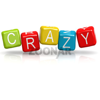 Crazy colorful buzzword