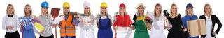 Berufe Beruf Ausbildung Business Frau Berufswahl Menschen Freisteller