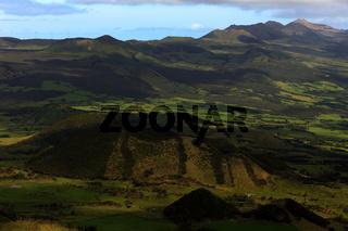Vulcanic landscape on Pico island, Azores