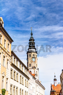 Rathausturm in der Altstadt von Görlitz