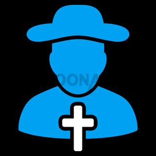 Cleric Flat Icon