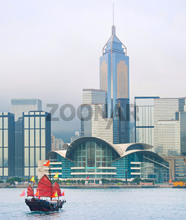 Hong Kong Downtown skyline