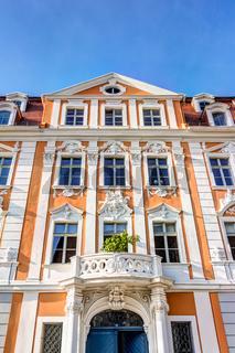 Historische Häuser in der Altstadt von Görlitz