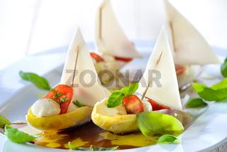 Chicoree-Schiffchen