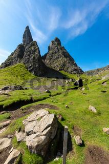 Der Old man of Storr auf der Isle of Skye