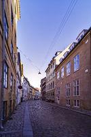 Copenhagen narrow street