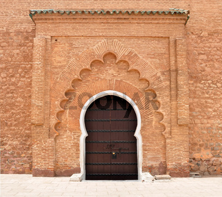 Koutoubia Mosque door