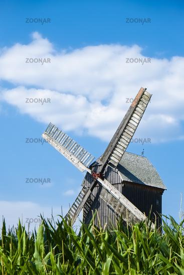 Post mill Beelitz, Brandenburg, Germany