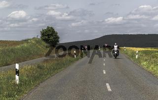 Mit dem Motorrad durch Oberfranken