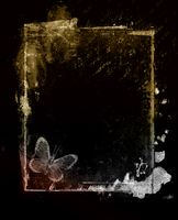 Grunge retro style abstract textured frame for your projects
