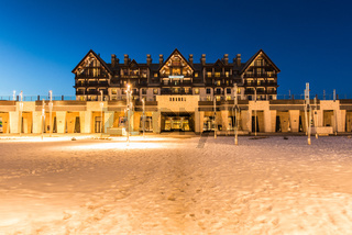 Shahdag - FEBRUARY 27, 2015: Tourist Hotels  on February 27 in A