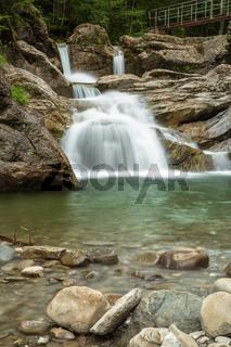 Wasserfall im Ostertaltobel, Allgaeu, Deutschland