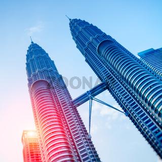 Petronas Towers, Kuala Lumpur - Malaysia.