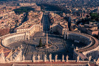 Vatican City and Rome, Italy: St. Peter#39;s Square