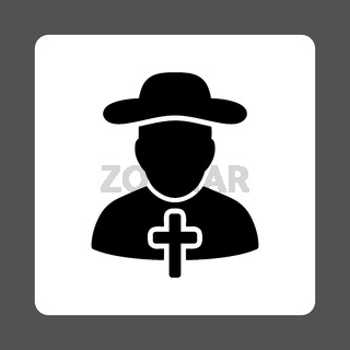 Religious Rounded Square Button