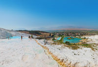 Pamukkale Turkey panorama