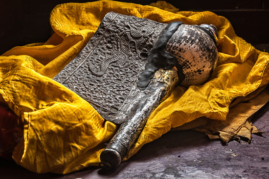 Dung-Dkar Buddhist religious music instrument