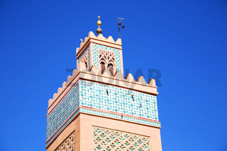 history in maroc africa  and the blue     sky