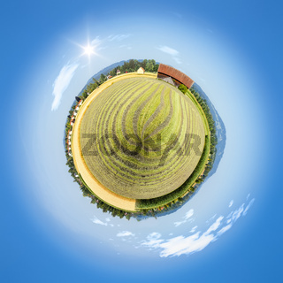 little planet countryside