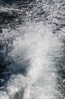 Water Behind a Ship