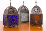 Egyptian lamps - three pieces