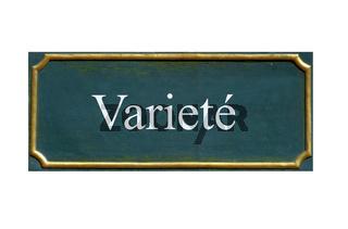 schild Variete