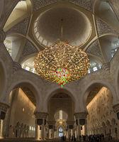Chandelier in Grande Mosque