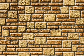 künstliche Steinwand