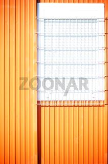 Baucontainerwand Detail