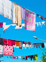 Drying clothes, Georgia